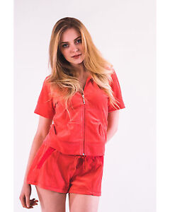 1671841d48 Details about LADIES VELOUR TRACKSUITS, SHORT SLEEVES VELOUR HOODIE AND  JOGGING PANTS SHORTS