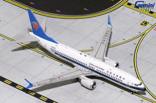 China Southern Boeing 737 MAX 8 B-1205 Gemini Jets GJCSN1710 Scale 1:400