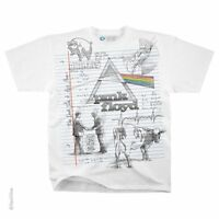 Pink Floyd Sketch T Shirt Wish You Were Here Animals