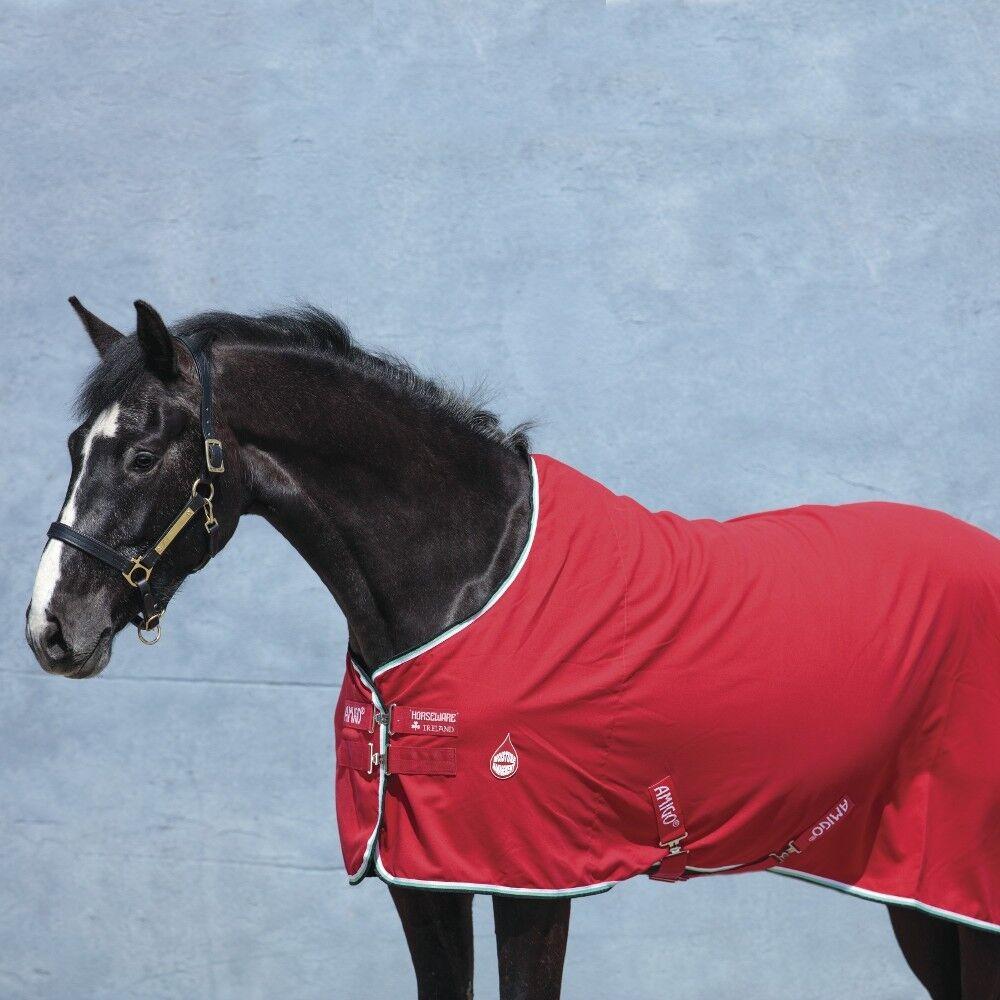 Horseware Amigo Amigo Horseware Stable Sheet - ROT/Weiß 47874e