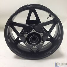 EBR Motorcycle REAR WHEEL ASSEMBLY, 17 X 6, ALUMINUM, DESIGNER BLACK G0300.1B7YT