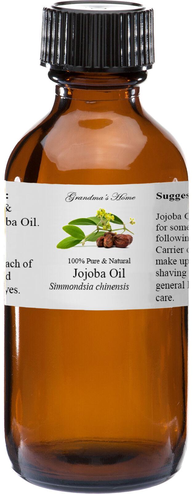Jojoba  Oil - 4 oz - 100% Pure and Natural - Free Shipping -