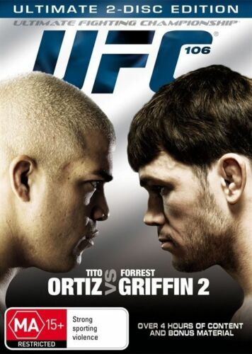 1 of 1 - UFC 106 Ortiz Vs Griffin  (DVD, 2-Disc Set) NEW/SEALED [Region 4] Fighting