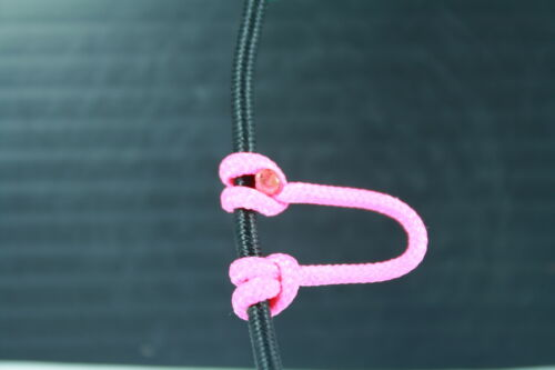 1,2,5,10 Flo Pink D Loop BCY #24 Rope Archery Release Bowstring Bow String