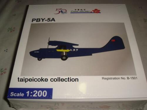 1:200 CHINA AIRLINES 50th Anniversary PBY-5A LE