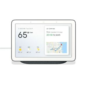 SEALED  Google Home Hub with Google Assistant - Charcoal