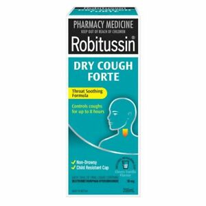Robitussin Dry Cough Forte - 200ml