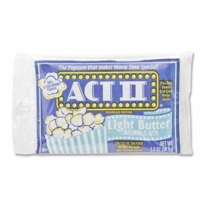 Microwavable Light Butter Marjack ACT II Microwave Popcorn 36 // Carton