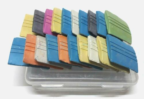 Smooth Tailoring Marker Chalks Fashion Design Triangle Scales /& Dust Free 15 Set