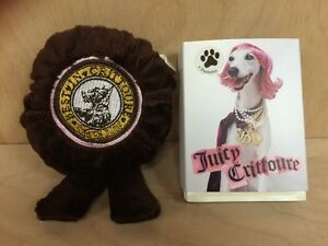 JUICY-CRITTOURE-for-Dogs-6-PAWLETTES-SOFT-MEDALLION-SQUEAKY-TOY
