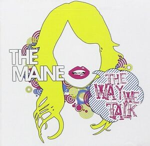 The-Maine-The-Way-We-Talk-2007-CD-NEW-SEALED-SPEEDYPOST