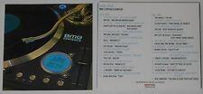 David Guetta, Michael Jackson, James Blunt, Bob Mould, The Cab - U.S. promo 2 cd