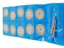 10Pcs Diamond Coated Cutting Grinding Cut off Blade Wheel for Dremel Rotary Tool