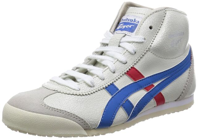 big sale 4add9 55dbf Onitsuka Tiger ASICS MEXICO Mid Runner White x Blue THL328 US4.5(23cm)