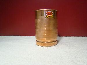 Copper-Glass-Tumbler-Cup-300ml-Storage-Drinking-Water-Ayurveda-Yoga-Free-Ship