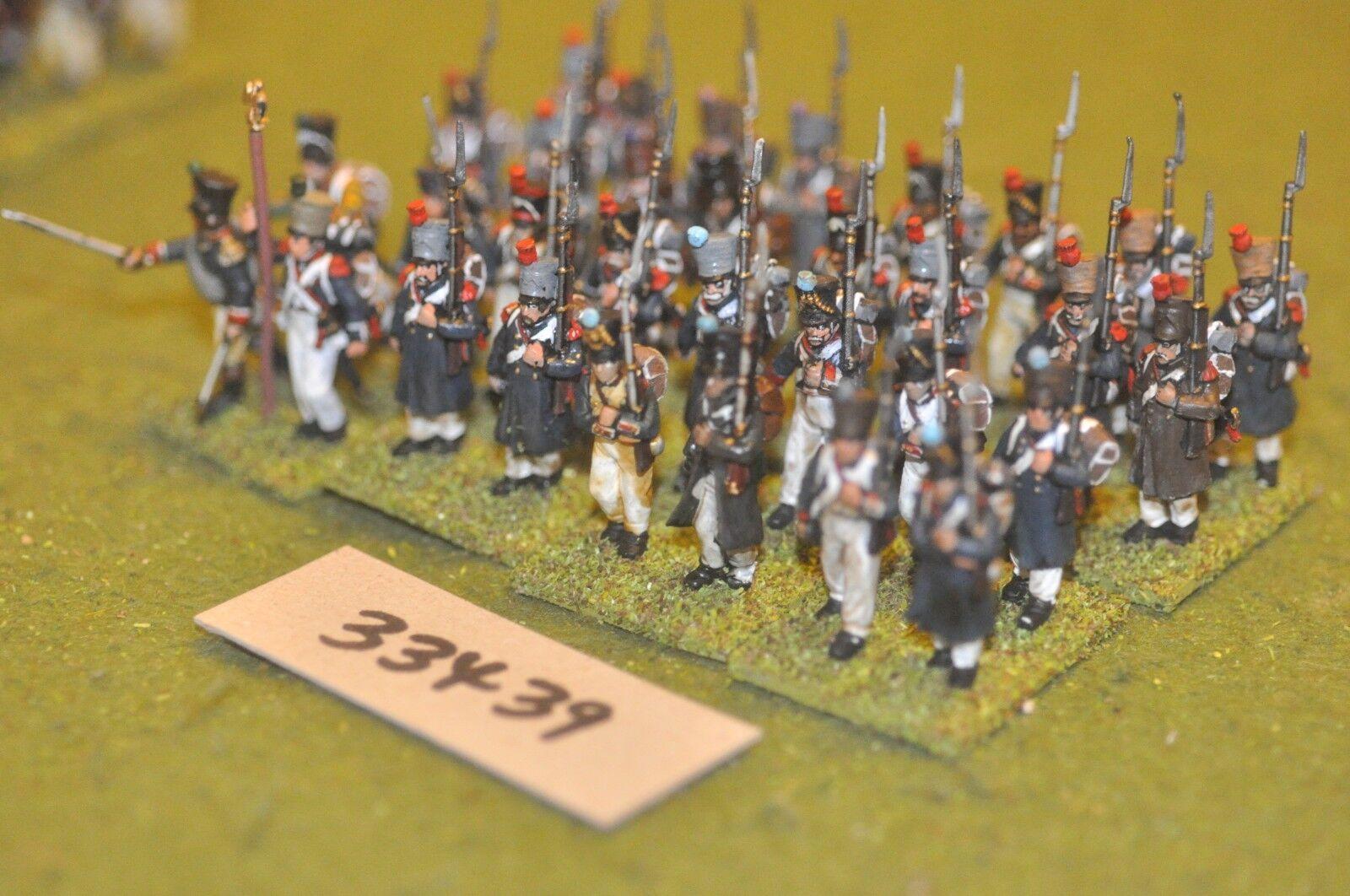 25mm napoleónicas francés-Line (plástico) 30 figuras-INF (33439)