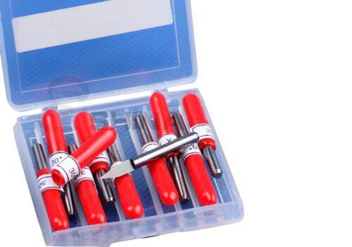 "5x 1//8/"" 3.175mm 20 deg 0.1mm Tungsten Carbide Engraving Bits CNC Router Tool"