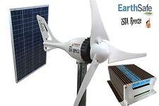 I-500+ 12v, viento generador + 100w módulo solar + hybrid de carga regulador ista-Breeze ® #2002