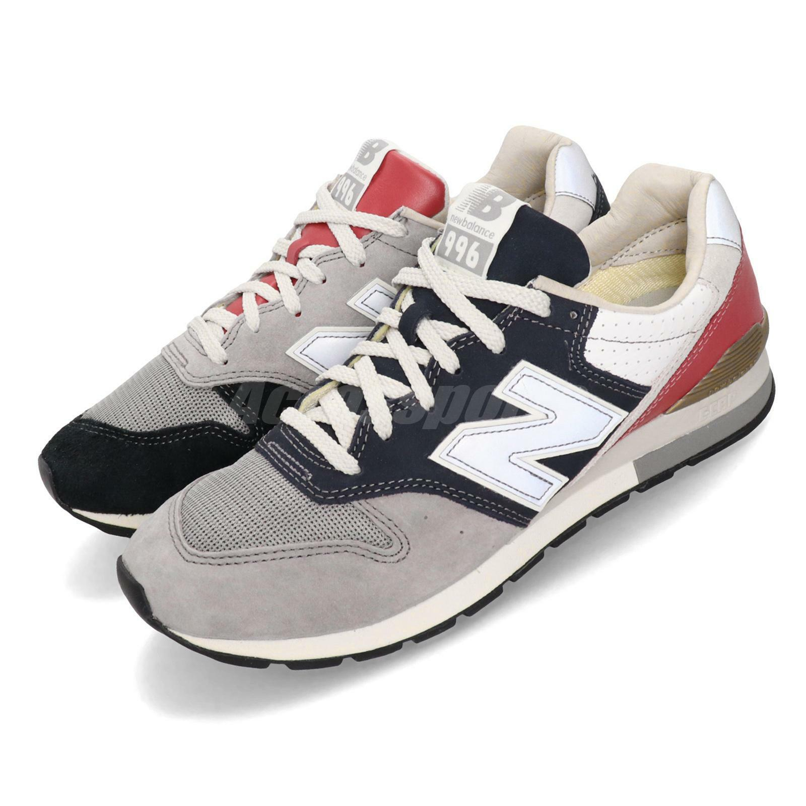 New Balance CM996OG D Black Grey Navy Red White Men Running shoes CM996OGD