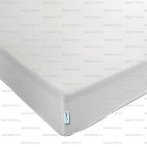 NEW 4FT6 DOUBLE REFLEX ORTHOPAEDIC MEMORY FOAM MATTRESS 4 INCHES SUPPORT FIRM