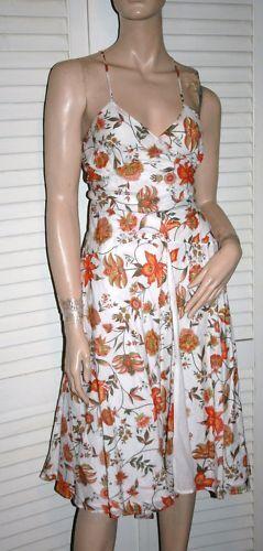Mason Womens Floral Wrap Dress Dress Dress EUC size 10 b60aeb