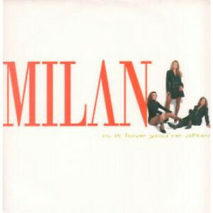 MILAN-Is-It-Love-You-039-re-After-12-034-MAXI-VINYL-UK-Polydor-2-Track-Ac-Inter-Mix