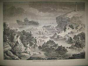 ROI-NOSSI-Be-REINE-MOHELI-BIARRITZ-CREVETTES-CANAL-SAINT-MARTIN-GRAVURES-1861