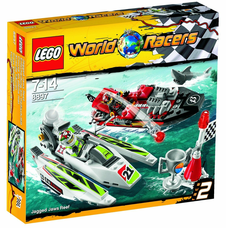 LEGO World Racers 8897 Entscheidung am Haifisch Riff Motorboote