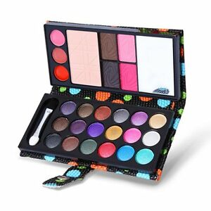 PRO-18-Colors-Eye-Shadow-Cosmetic-Makeup-Shimmer-Matte-Eyeshadow-Palette-Set-New