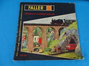 Faller-Boek-841-NL-Modelbouw-makkelijk-gemaakt
