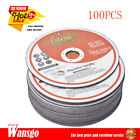 """Cutting Discs 100 Pack 6""""x.045""""x7/8"""" Cut-off Wheel - Metal & Stainless Steel"""