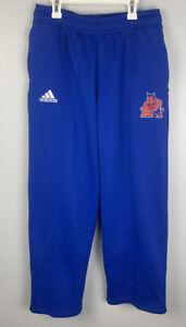 Adidas-Reno-High-School-Blue-Sweatpants-Mens-M-Medium