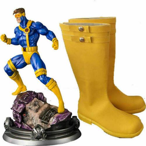 X-Men Cyclops Scott Summers Cosplay Shoes Boots Halloween Cosplay New