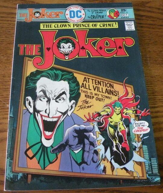 The Joker 2 Jul 1975 Dc