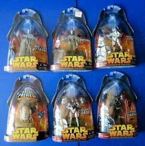 LOT-OF-6-STAR-WARS-REVENGE-OF-THE-SITH-Clone-Trooper-ACTION-FIGURES-New
