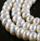 6X8MM WHITE AKOYA CULTURED PEARL ROUNDEL LOOSE BEADS 15""