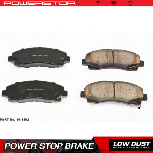 Power Stop Front Clean Ceramic Brake Pads For 2009-2014