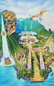 Jurassic-Park-River-Adventure-Discovery-Center-Islands-of-Adventure-Poster