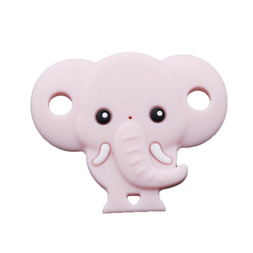 Silicone Elephant Shaped Orthodontic BPA Free Pacifier Soother for Baby N7