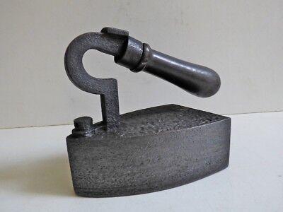 R@re Ancien fer à repasser LINGOT BÜGELEISEN Cast iron 1860 OLD Antique vintage