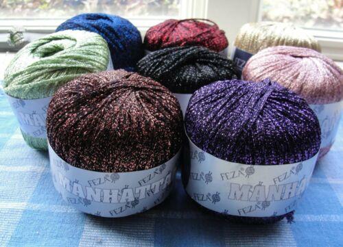Feza Manhattan Yarn Eight Color Choices New Discontinued
