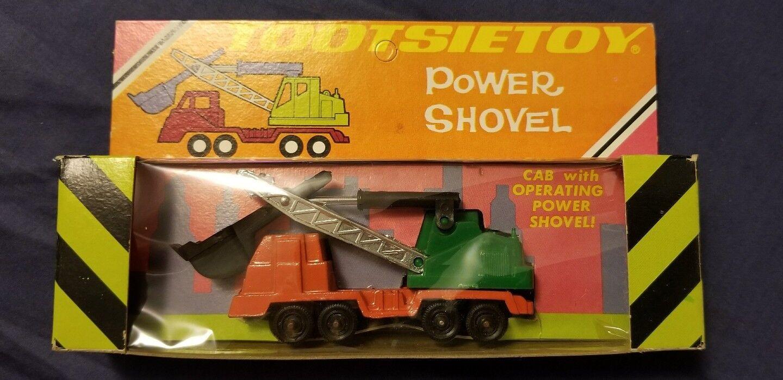 Vintage Tootsietoy 1969 Model 1457 Power Shovel Toy