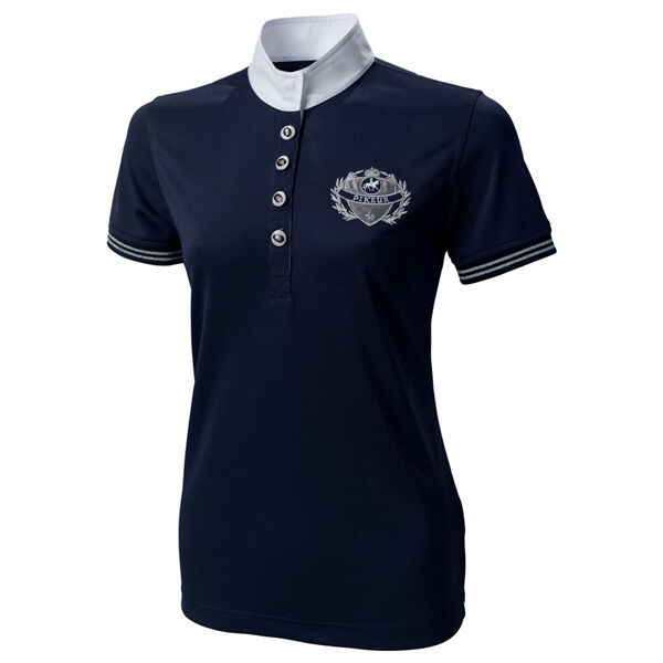 Pikeur Ladies Navy  Competition Show Shirt (499) - All Sizes  free delivery