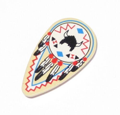 Lego ® Indian Shield Western Wild West 6764 6748 6763 6766 2586 Oval Buffalo Top