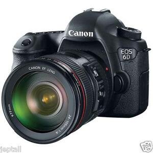 """#Cod Paypal Canon EOS 6D 24-105mm 20.2mp 3"""" DSLR Camera Brand New Jeptall"""