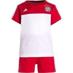 timeless design 1a254 6b0aa Details about Lewandowski adidas Bayern Munchen Set Boys Kids Jersey Shorts