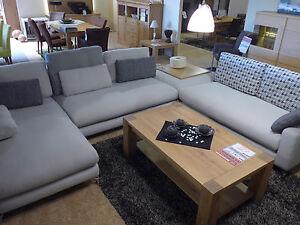 Polstermöbel u-form  Sofa Akador Heidelberg Polstermöbel U-Form Grau Lounge Relax ...