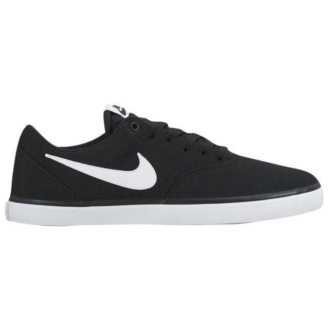 Nike Sb Check Solar Cnvs 843896 001 Skateboarding Black White For Sale Online Ebay
