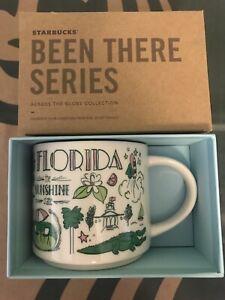 Starbucks Coffee Been There Series 14oz Mug FLORIDA Cup w/SKU