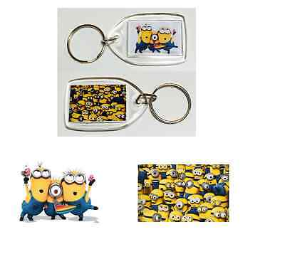 Funky Minions Key Rings Party Bag Fillers - Gifts 10 - 50 Quantity Despicable Me
